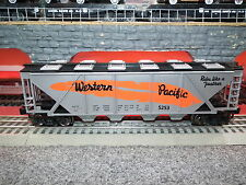 LIONEL MTH MENARDS O GUAGE LIMITED EDITION WESTERN PACIFIC COVERED HOPPER CAR