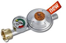 Gas Druckregler 50 mbar 1,5 kg/h Manometer Propan Butan Druckminderer Gasregler