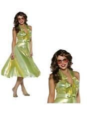 Dancing Queen 70's Disco One Size Adult Woman's Costume Fancy Dress  B29