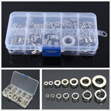 260X Stainless Steel Washer/Spring Washer Assortment Kit M2.5-M10 For Car Parts