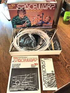 Vintage 1970s Spacewarp Set 10: beginner coaster set by Bandai Looks Complete