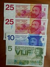 Netherlands - 65 Gulden face - Clean circulated
