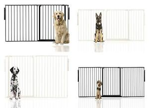 Bettacare Multi Panel Flexible Width and Height Any Angle Pet Barrier Dog Gate
