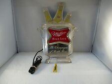 Vintage Vintage Miller High Life Light Up Advertising Beer Sign