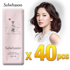 Sulwhasoo Bloomstay Vitalizing Cream 40pcs Anti-Aging Wrinkle Amore Pacific New