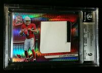 BGS 9 1/1 KYLER MURRAY RC JSY /15 NEON PINK PRIZM *SSP ROOKIE PATCH 2019 Spectra