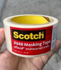 SCOTCH 3M #888 Masking Tape 48 mm. X 20 yard