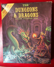 tsr dungeons and dragons Fantasy Adventure Game Basic Set 1