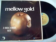 Various Sessions Mellow Gold 3 LP (Abba Rascals Association Harry Nilsson) VG/VG