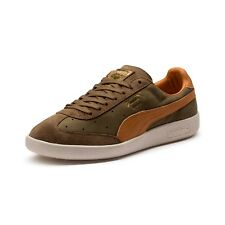 1743d3c53bb PUMA Madrid Tanned Trainers Green F02 42