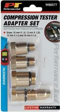 Compression Tester Spark Plug Automotive Tools Equipment Accessories Adapter Kit