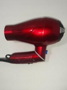 Conair 270WG Twist Handle Tool Red Hair Dryer Infiniti Pro 1875 Watt Styler