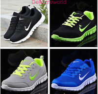 MEN'S WOMEN'S SPORTS TRAINERS RUNNING GYM  BREATH CASUAL SHOES GIFT