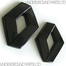 RENAULT CLIO MK3 BLACK BADGE COVERS DIAMONDS 197 SPORT RS F1 TEAM VVT CUP R27