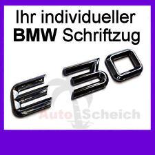 Schriftzug Aufkleber Emblem für BMW M3 M5 E30 E34 E36 E38 E39 E46 E60 E90 Z3 Z4