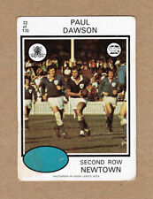 Newtown Jets 1975 Season NRL & Rugby League Trading Cards