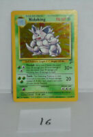 Nidoking 11/130 Base Set 2 Holo Rare Pokemon Card listing # 16