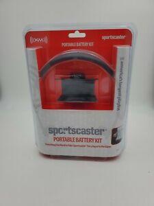 XM Satellite Radio Sportscaster Portable Battery Kit with Antenna Headphones