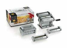MARCATO | Multipast Macchina per la Pasta + 5 Accessori | Ravioli Spaghetti ecc