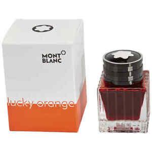 Montblanc Ink Bottle - Lucky Orange (Limited Edition)