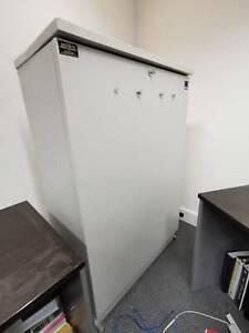 Large metal plan filing cabinet (rare)