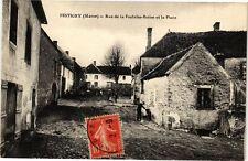 CPA  Festigny (Marne) - Rue de la Fontaine-Borne et la Place     (245438)