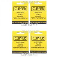 36 X Clipper Lighter Flints, Will Work In ALL Flint Lighters Including Zippo Lig