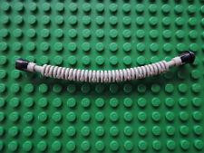 Lego 1 x Schlauch hellgrau Noppe schwarz x131a Flex 12L  4620 7314 7313