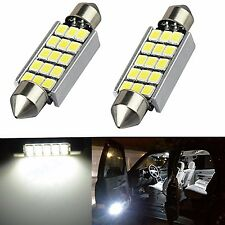 JDM ASTAR 2x 42MM 15-SMD White LED Interior Trunk Light Bulb 569 578 211-2 6413