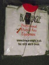 Black Eagle White Judo Weave Suit Size 01 (130lbs)