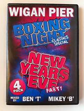 Wigan Pier Boxing Night & NYE 2008 - Ben T & Mikey B - RARE RARE