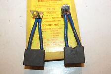 CHARBONS PX 42 POUR DYNAMO 12V PARIS RHONE...CAMIONS TRACTEURS SIMCA RENAULT