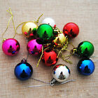 Christmas Tree Ball Ornament Hanging Baubles Decor Xmas New Year 12pcs 3cm pop