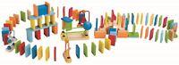 Hape DYNAMO DOMINOES Pre-School Young Children Wooden Toy Game BN