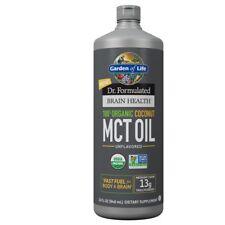 Garden of Life Dr. Formulated Organic Brain MCT Oil 32 oz