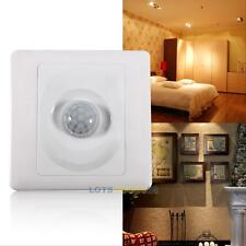 Automatic Infrared IR PIR Body Motion Sensor Switch for Wall Mount Control Light