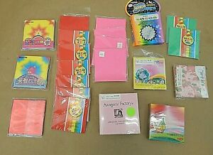 """ORIGAMI FOLDING PAPER, 21 PACKS, 3"""" X 3"""" AND 3-1/4"""" X 3-1/4"""" SQUARE"""