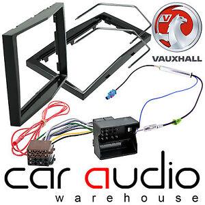 Vauxhall Zafira B Car Stereo Double Din Fascia Panel & Fitting Kit Piano Black
