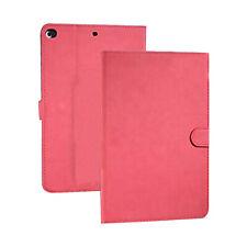 Luxury Retro Style Book Flip Cover Case For Apple iPad Mini 4 - Red