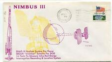 1969 Nimbus III SNAP-19 Nuclear System Power SECOR Vandenberg USA SAT NASA