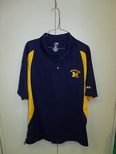 UNIVERSITY OF MICHIGAN WOLVERINES POLO MENS SIZE M