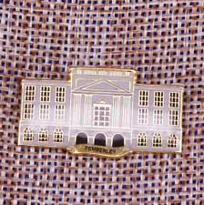 Pemberley enamel pin beautiful manor Pride and Prejudice literature architect