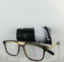 Brand New Authentic IC! Berlin Eyeglasses Ralphi Matte Gold Tortoise 50mm Frame