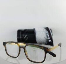 Brand New Authentic IC! Berlin Eyeglasses Ralphi Matte Gold Tortoise 50mm Frame