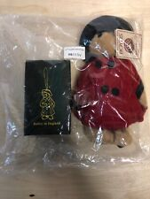 Boyd's Bears Qvc Exclusive 2005 Plush Bailey in England w/Ornament 99115V Signed