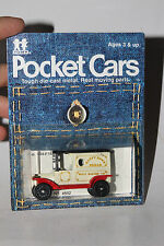 TOMY TOMICA POCKET CARS #134-F13 1915 FORD MODEL T DELIVERY, HAPPY HOME BREAD #6