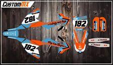 KTM SX50 SX65 Graphics Kit with custom numbers etc - SX 50 65 2002-2019