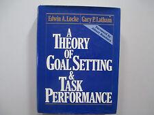A THEORY OF GOAL SETTING & TASK PERFORMANCE-LOCKE-1990-1ST ED-HARDCOVER BOOK