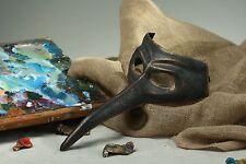 """Carnival Papier Mache Mask """"doctor Plague"""""""