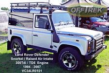 DEFENDER Land Rover TD5 / 300Tdi 94-07 SNORKEL - VC34LR0101